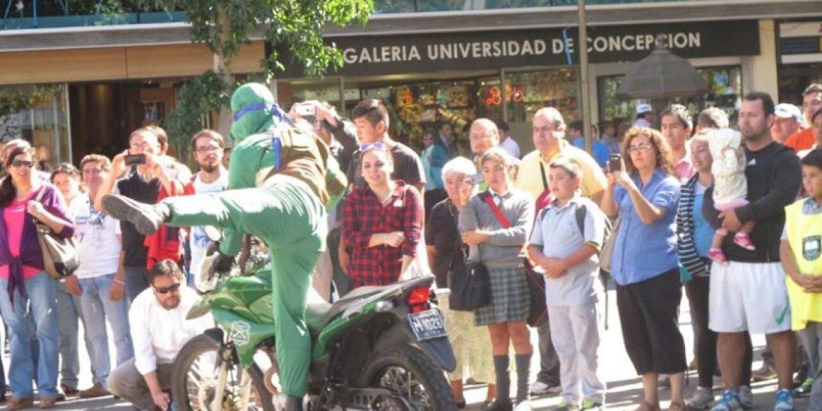 Carabineros sorprenden a pequeños escolares disfrazados de Tortugas Ninjas