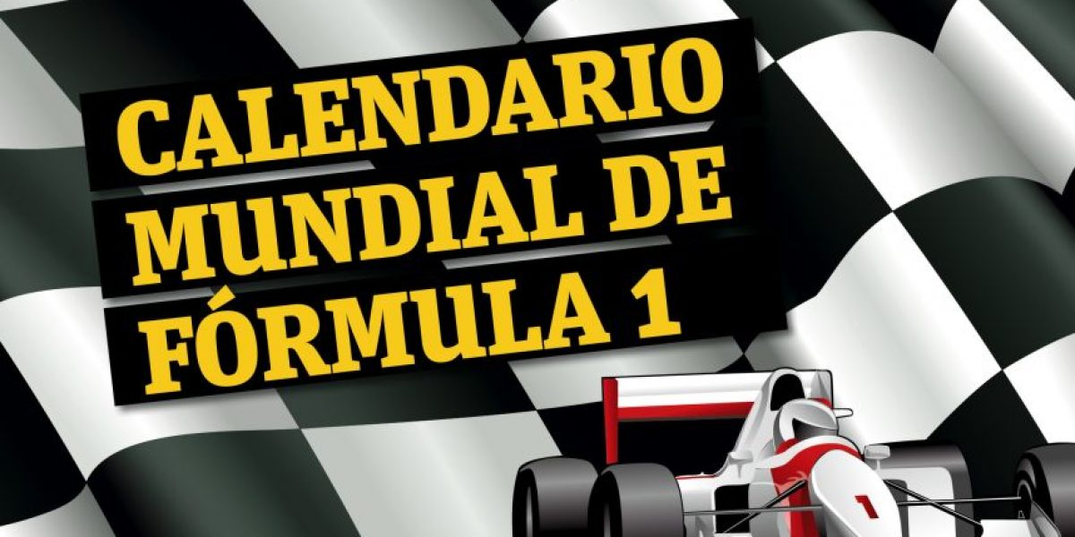 Infografía: @F1 Calendario 2015