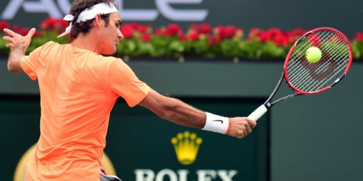 El incombustible Federer sigue sólido en Indian Wells y ya está entre los ocho mejores