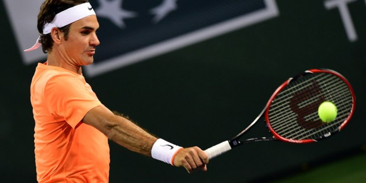 Roger Federer cobra revancha de Andreas Seppi en Indian Wells