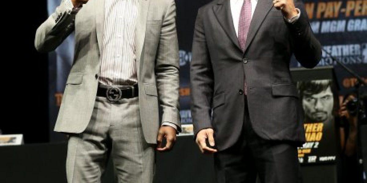 La millonaria dieta de Floyd Mayweather para enfrentar a Manny Pacquiao