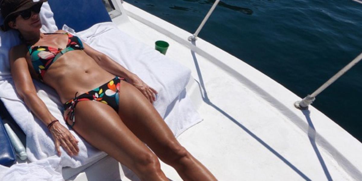 María Gracia Subercaseux lo hace de nuevo: ¡Se muestra desnuda!