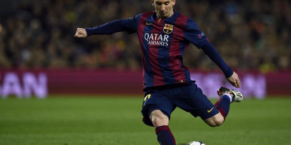 No lo podía creer: El caño de Messi que impactó a Pep Guardiola