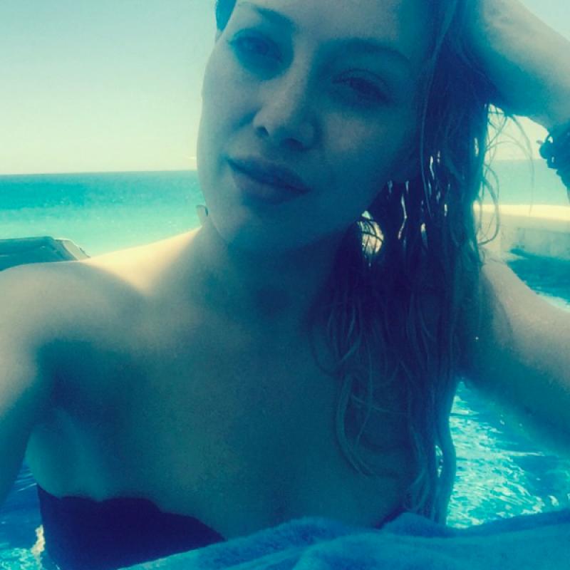 . Imagen Por: Vía Instagram Hilary Duff