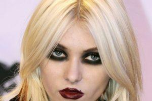 Taylor Momsen, tú no eras así. Con esa cara habrías asustado al mismo Grinch. Foto:Getty Images. Imagen Por: