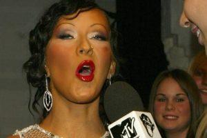 """Christina Aguilera se acaba de coronar como la """"Pitufina"""" de los Oompa Loompas. Foto:Getty Images. Imagen Por:"""