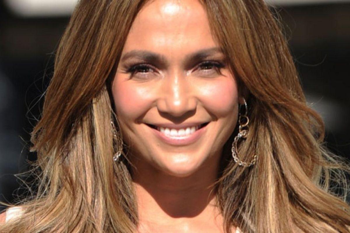 J Lo, más roja que un ebrio en San Patricio. Foto:Getty Images. Imagen Por: