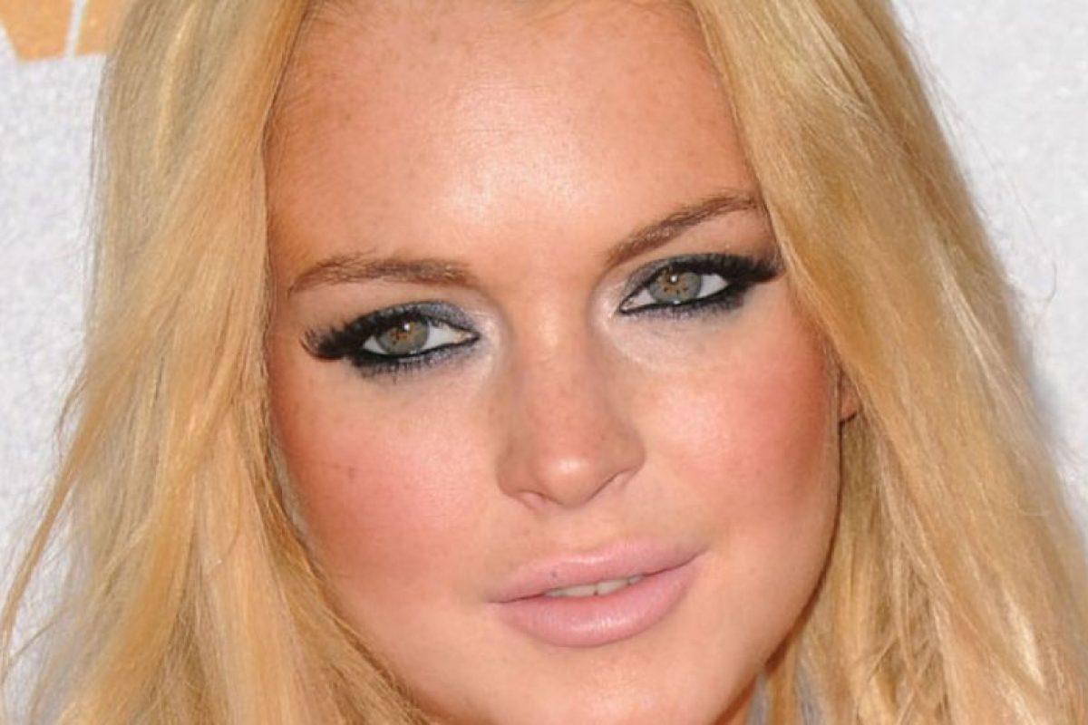 Lindsay, no. Simplemente, no. Mucho polvo bronceador. Foto:Getty Images. Imagen Por: