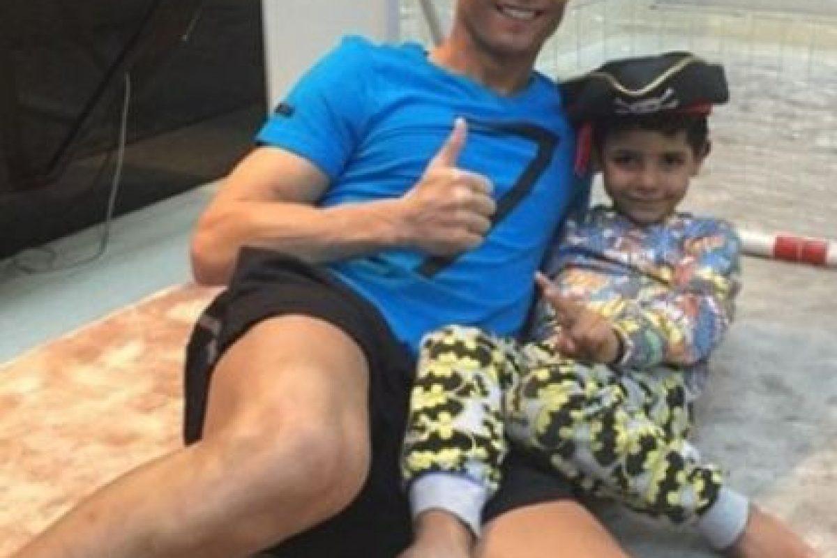 7. Cristiano Ronaldo Foto:Instagram @cristiano. Imagen Por: