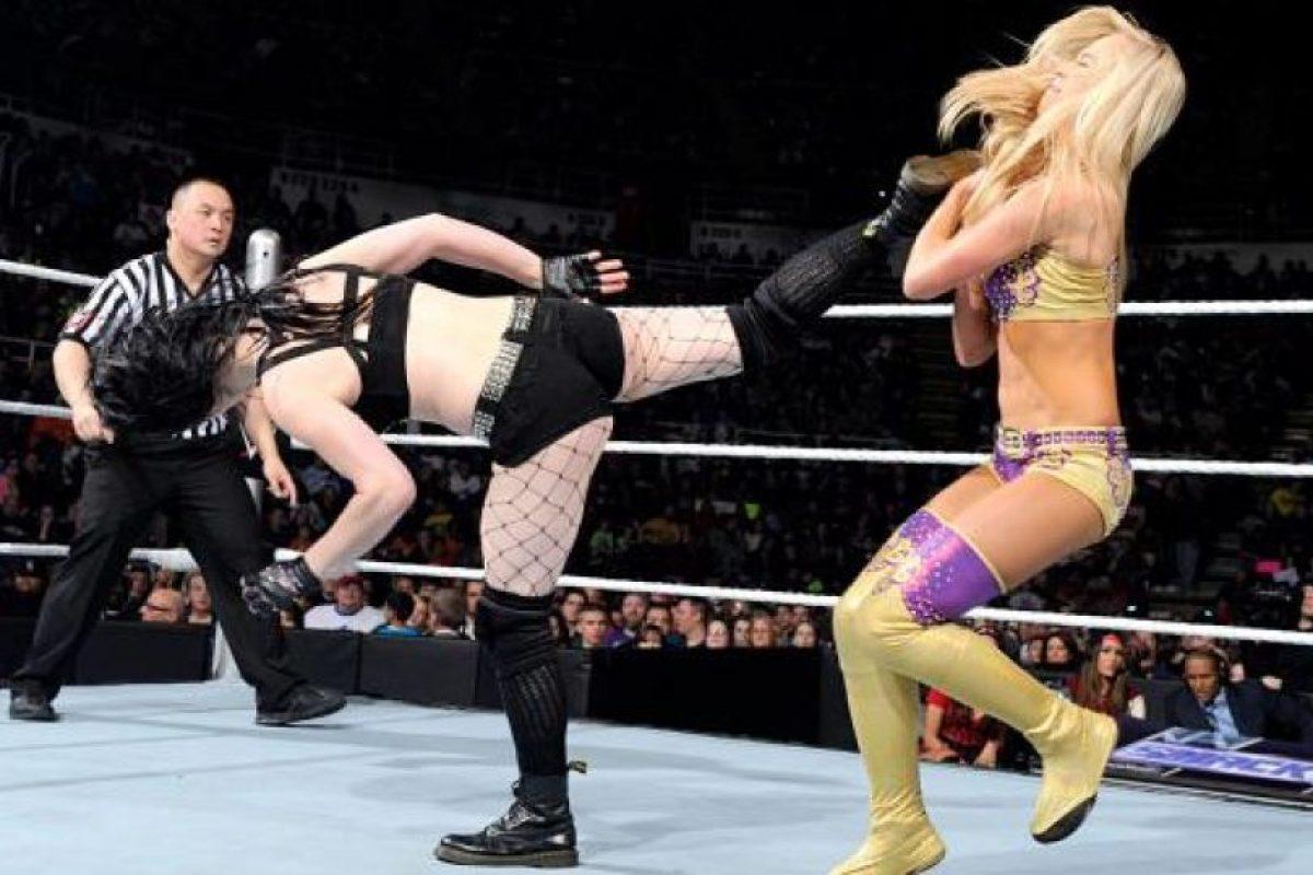 Mira las mejores imágenes de Paige en acción Foto:WWE. Imagen Por:
