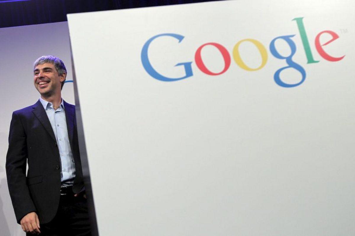 El gigante Google no podía quedar fuera. Larry Page, uno de los fundadores y líder de la empresa, cuenta con un patrimonio de 29 mil 700 millones de dólares. Foto:Getty Images. Imagen Por: