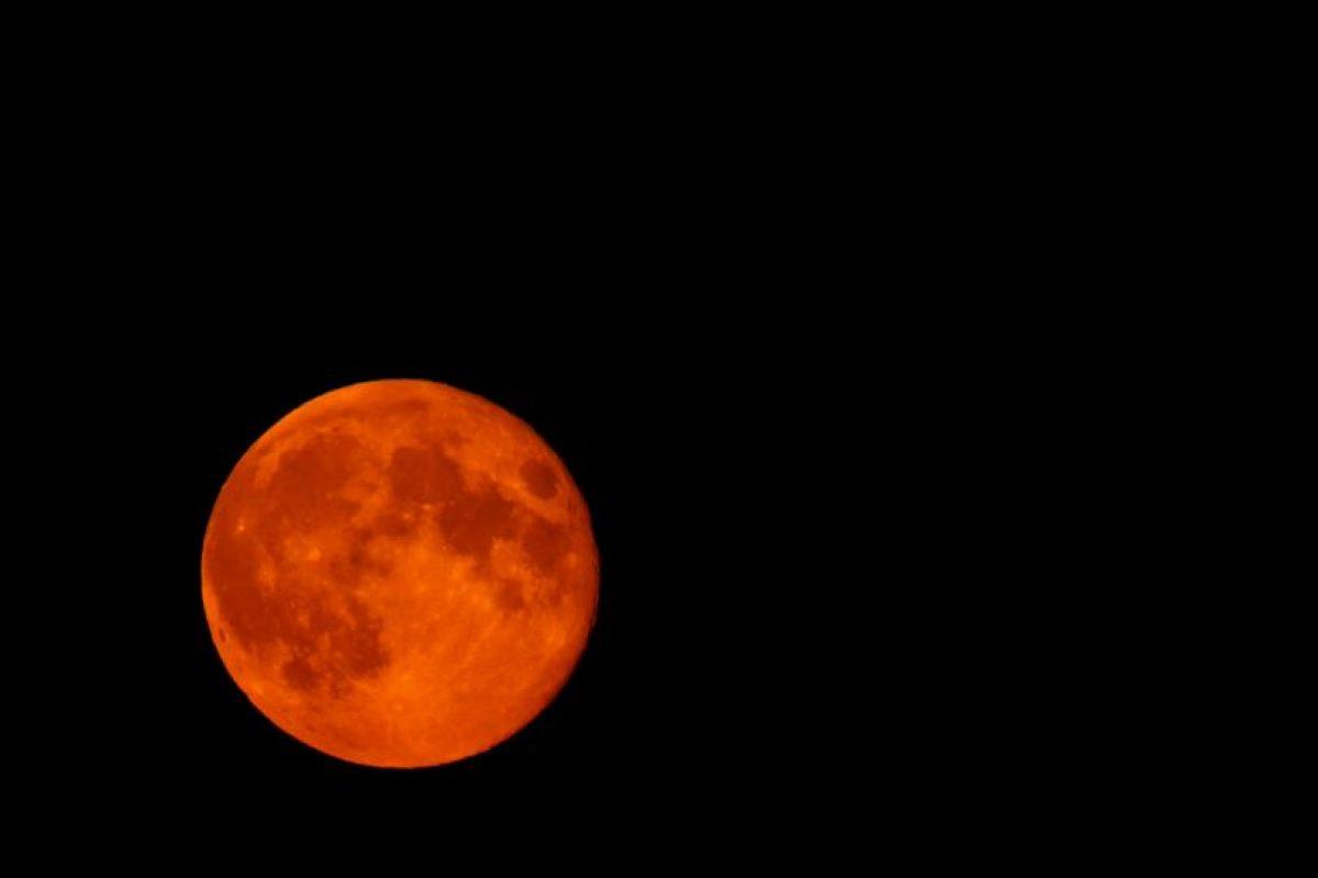 """El evento es conocido como """"Luna de sangre"""" o """"Luna roja"""" Foto:Getty Images. Imagen Por:"""