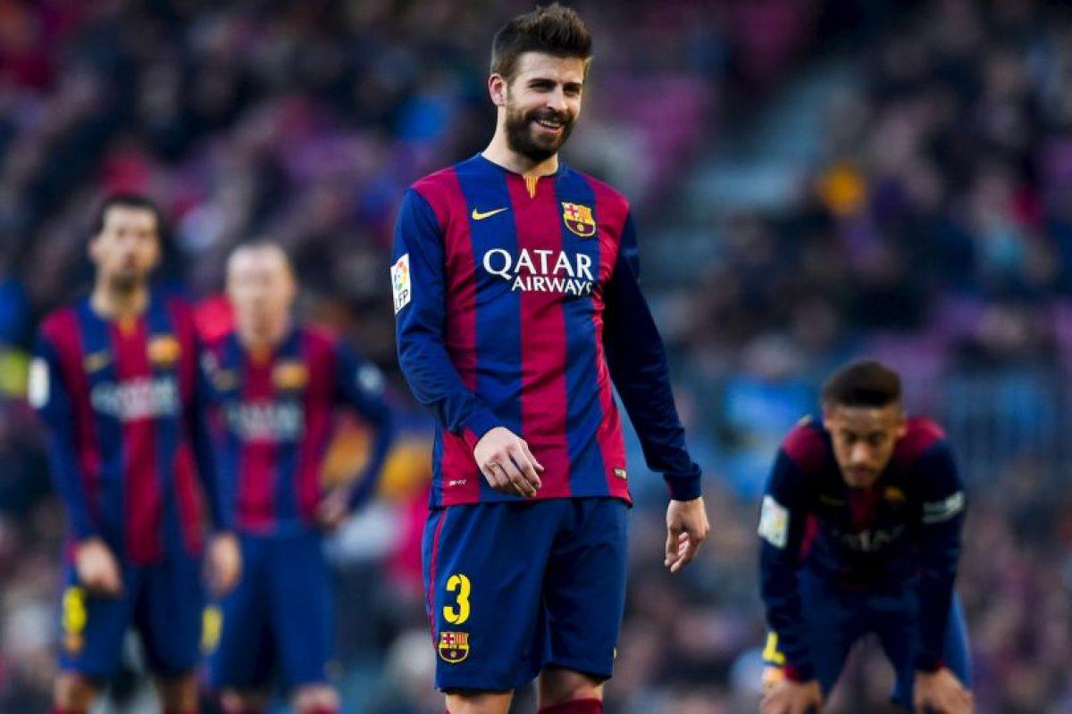 Gerard Piqué es el líder de la defensa Foto:Getty Images. Imagen Por:
