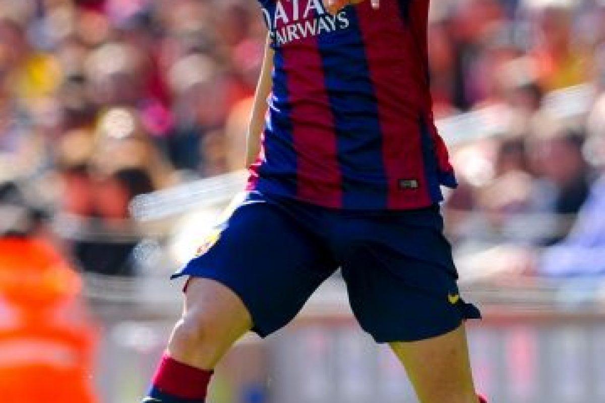 Y Andrés Iniesta Foto:Getty Images. Imagen Por: