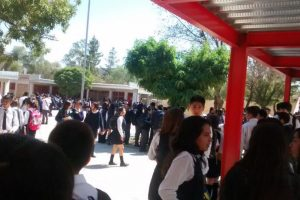 Liceo Bicentenario de San Bernardo Foto:@DemmysL/Twitter. Imagen Por: