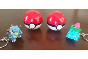 """Las famosas """"Pokebolas"""", donde vivían estas criaturas. Foto:Ebay. Imagen Por:"""