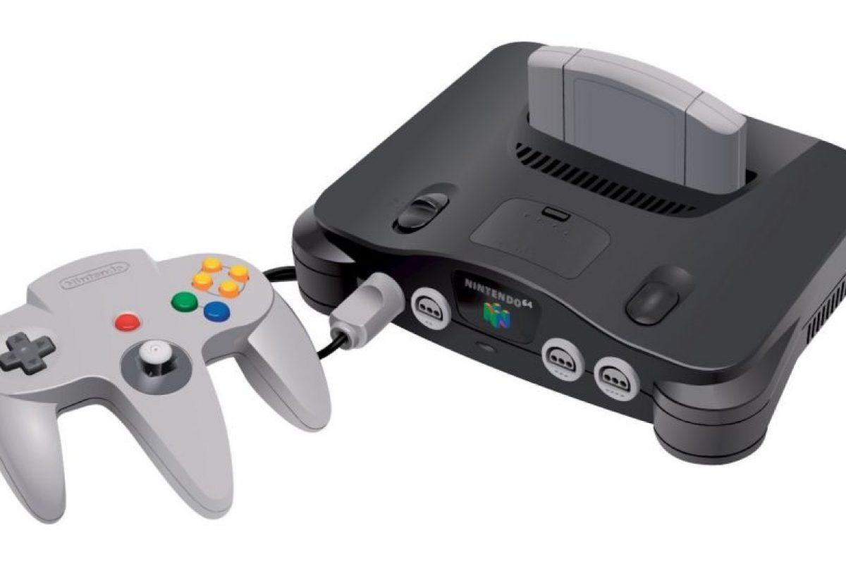 Nintendo 64. Lanzado el 13 de mayo de 1996. 32.9 millones de unidades vendidas. Foto:Nintendo. Imagen Por: