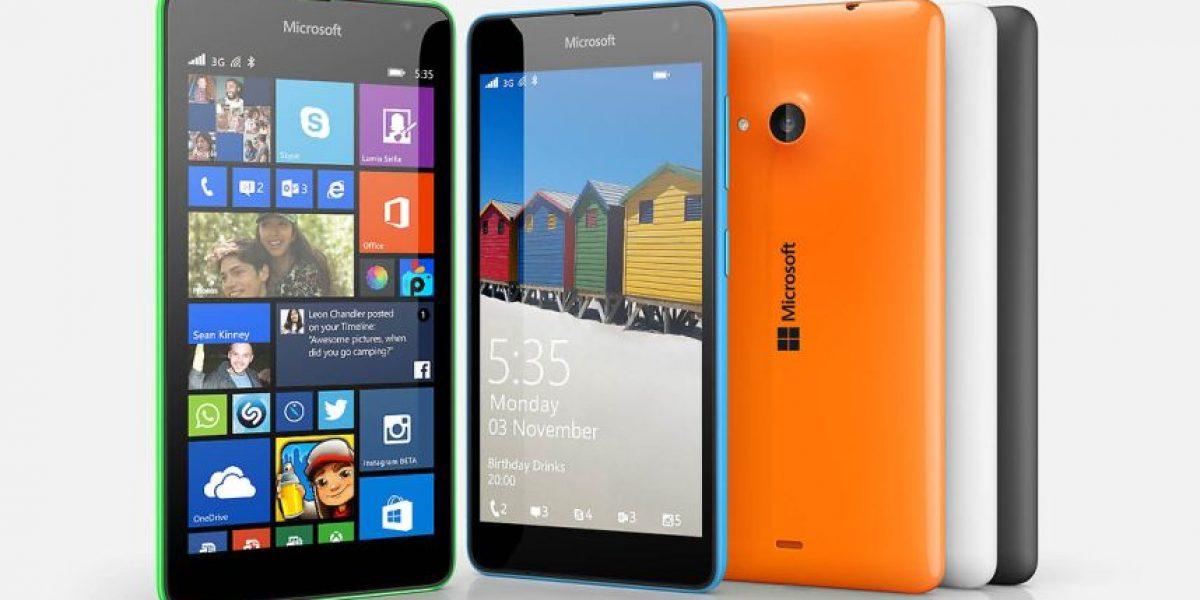 Microsoft presentó su primer smartphone propio en Chile: el Lumia 535