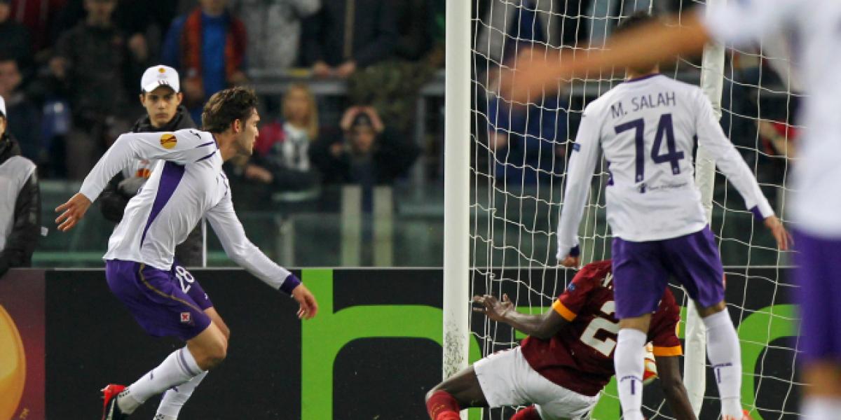 Video: La chambonada del arquero de la Roma que selló la eliminación ante Fiorentina