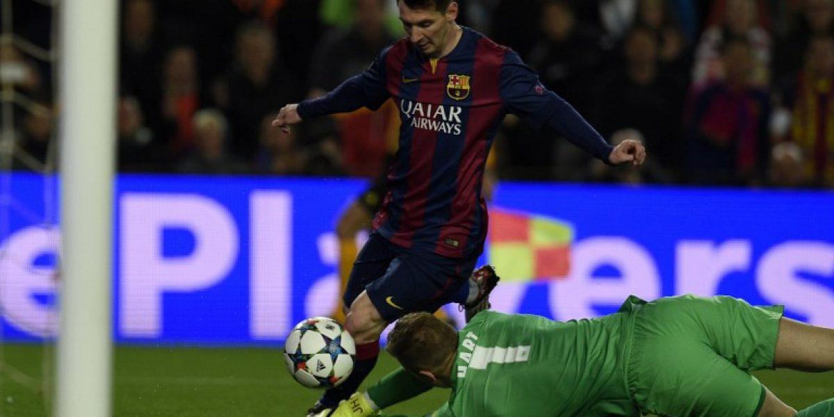 Asombroso: Lionel Messi deslumbró con sus jugadas y caños ante el City