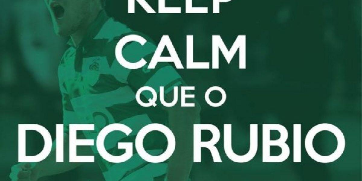 Una jornada de ensueño: Diego Rubio anotó otro gol y es figura en Portugal