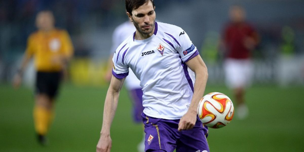 Matías Fernández fue clave en el paso de la Fiorentina a los cuartos de Europa League