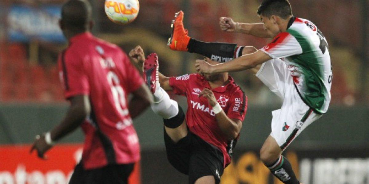 Así vivimos el amargo empate de Palestino ante Montevideo Wanderers en la Libertadores