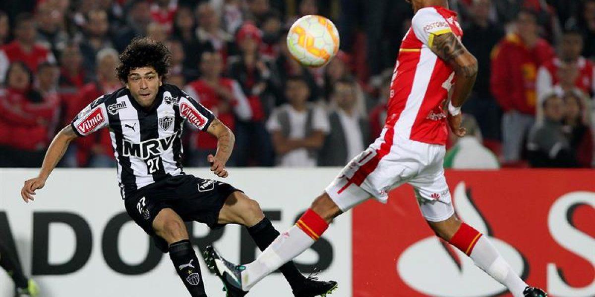 Se enciende el grupo de Colo Colo: Mineiro superó a Santa Fe