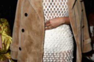 Vestido blanco, con tejidos. Foto:Getty Images. Imagen Por: