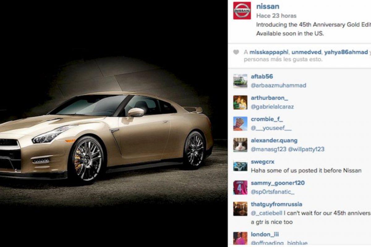 Aquí un ejemplo de la empresa Nissan que logró más de siete mil likes en esta foto dentro de su perfil de Instagram. Foto:Instagram @nissan. Imagen Por: