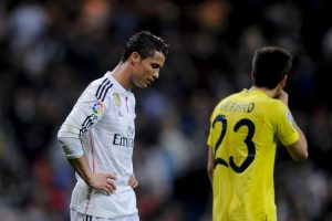 CR7 solo ha marcado cuatro goles en sus últimos cinco partidos Foto:Getty Images. Imagen Por: