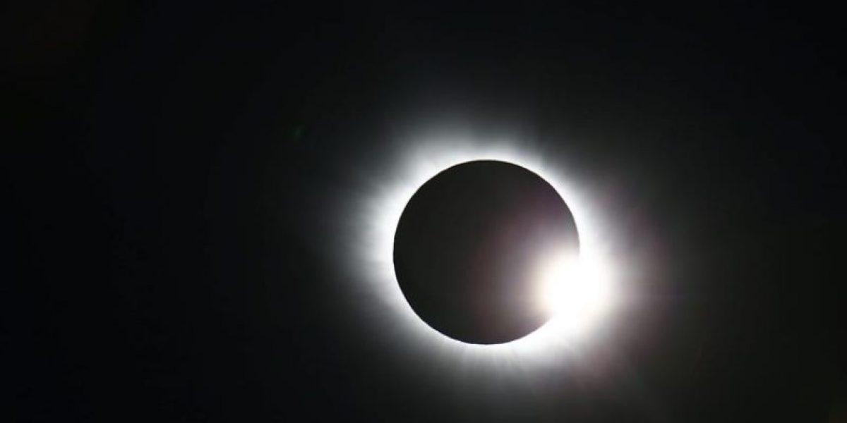 Las impresionantes imágenes del Eclipse total de sol