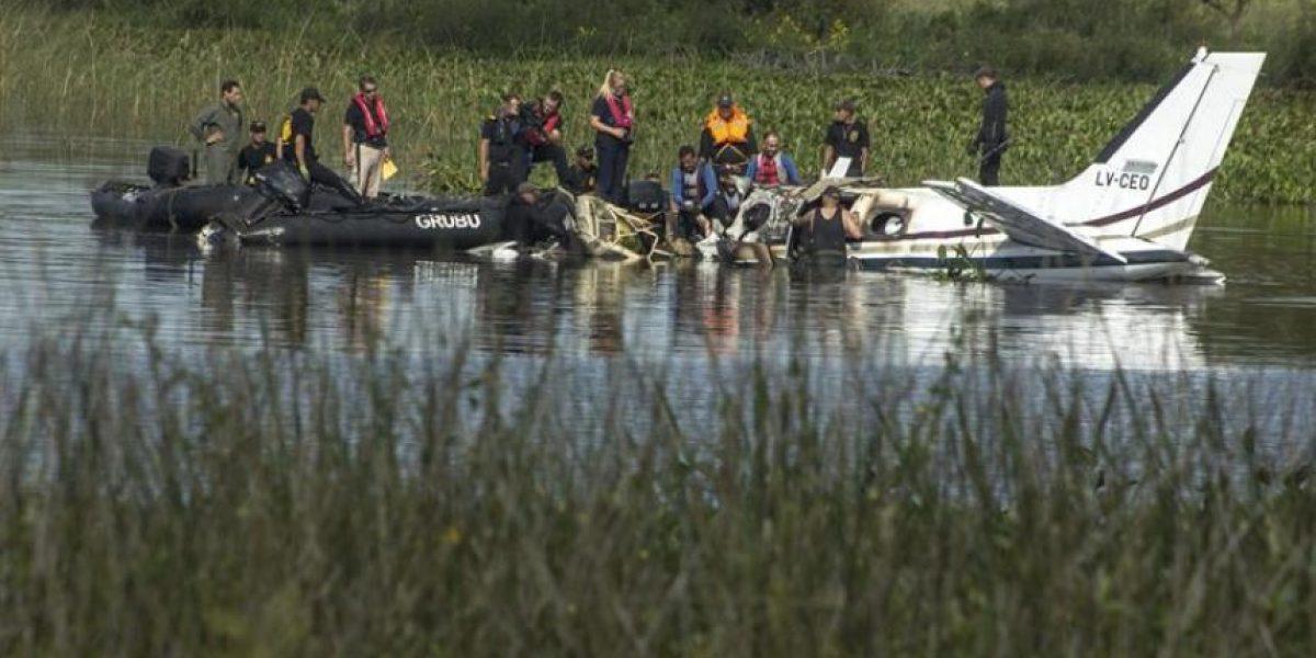 Nueve argentinos y una portuguesa mueren en un accidente de avión en Uruguay