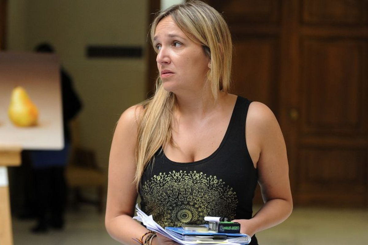 María José Hoffmann Foto:Agencia Uno. Imagen Por: