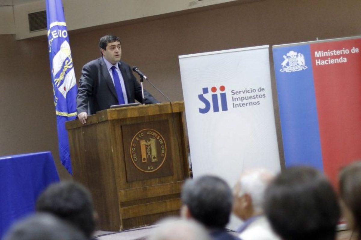 Michel Jorratt, presidente del SII Foto:Agencia Uno. Imagen Por: