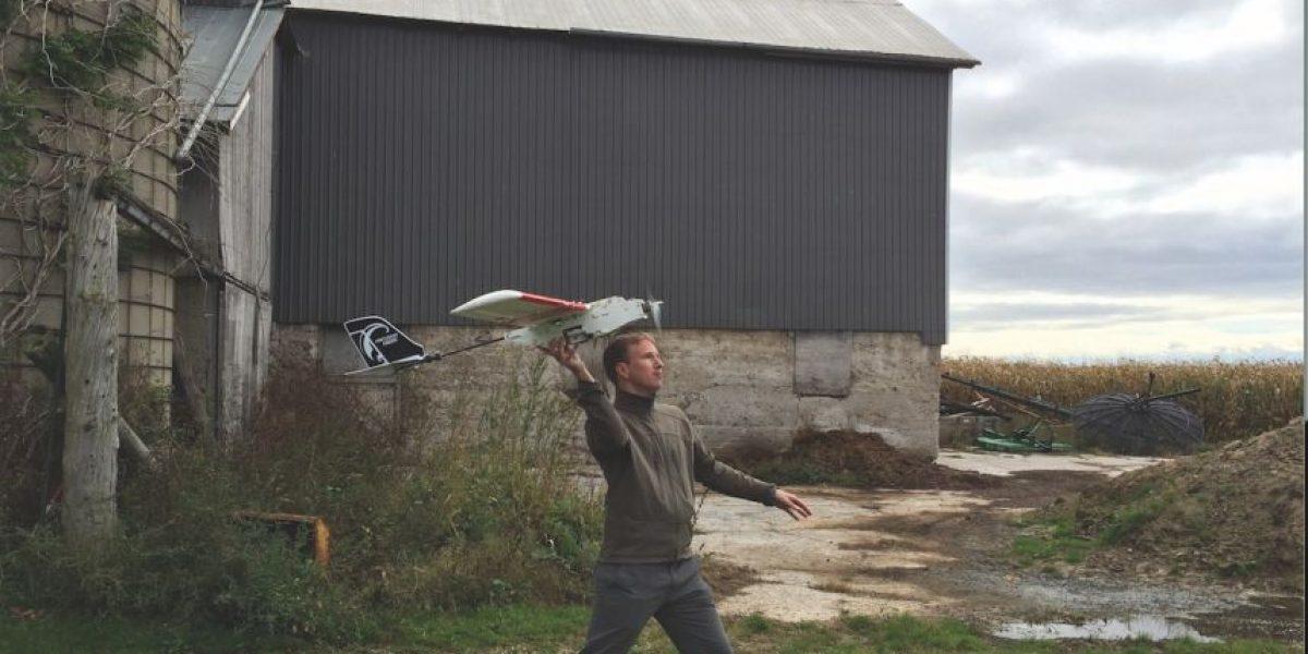 Drones prueban el agua para su conservación ecológica