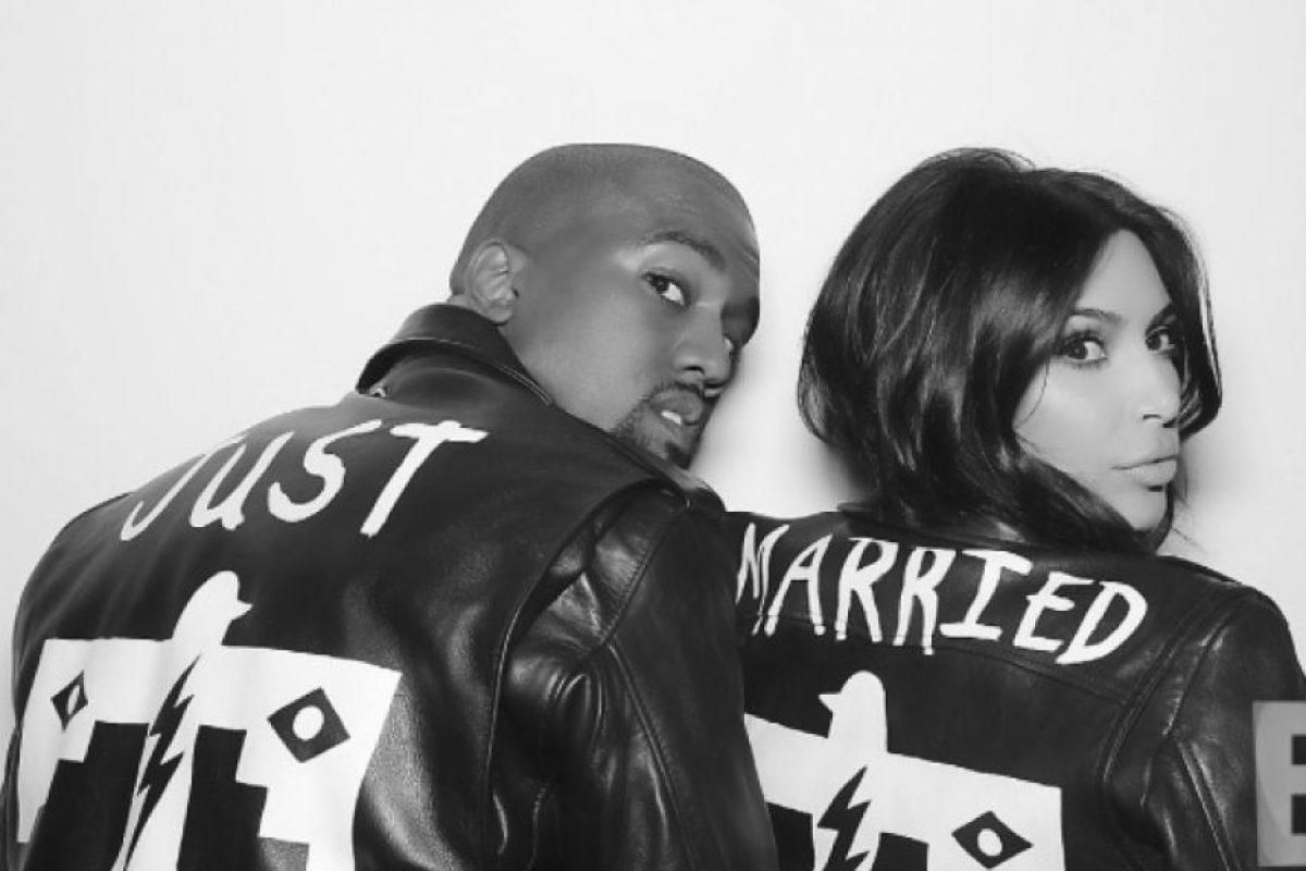 Kanye West y Kim Kardashian Foto:Instagram @kimkardashian. Imagen Por: