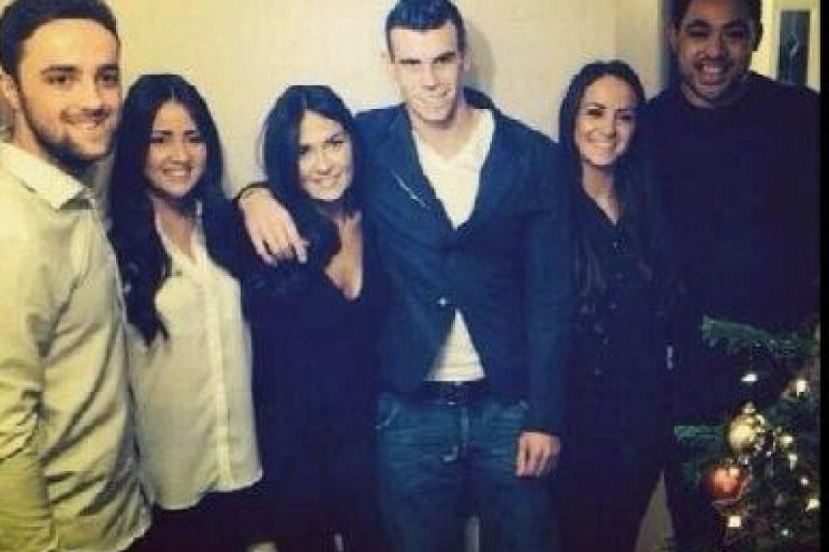 Es la pareja de Gareth Bale Foto:Twitter. Imagen Por: