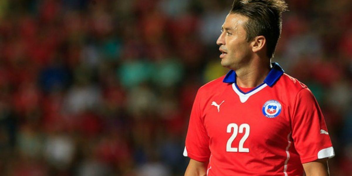 Roberto Gutiérrez sería la apuesta en ataque de la Roja para Copa América