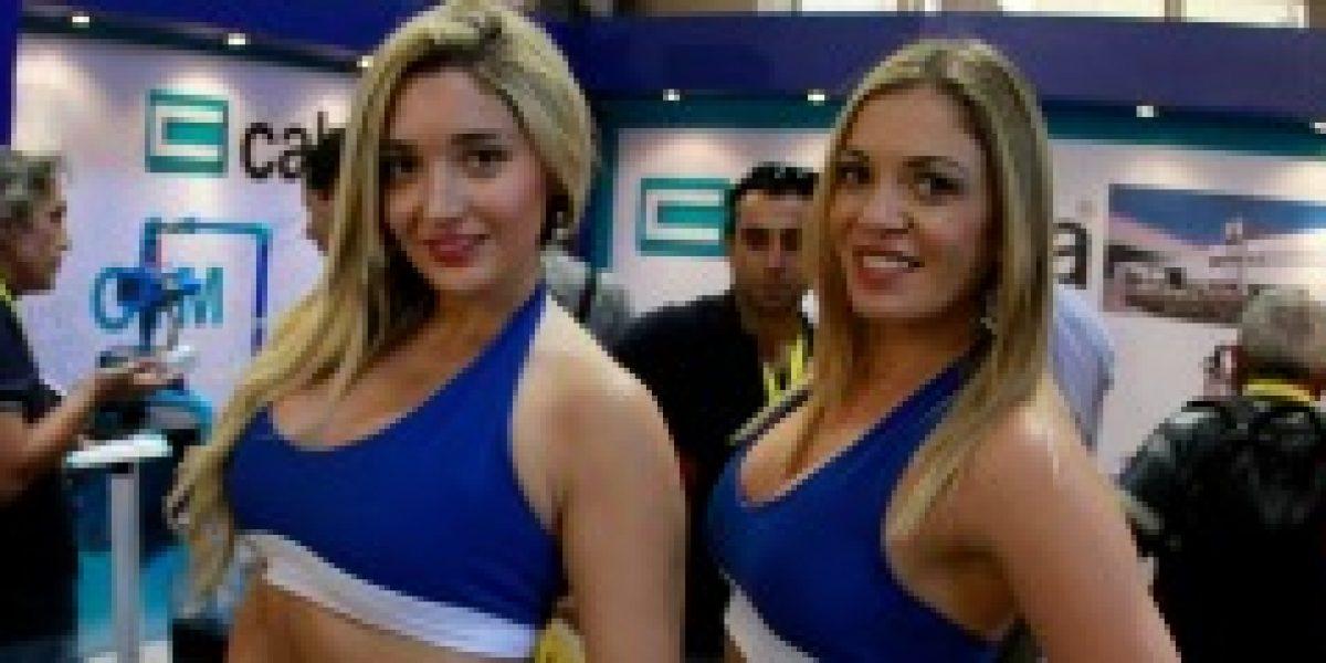 Con lindas mujeres partió la nueva versión de la Feria de Capacitación de Sodimac