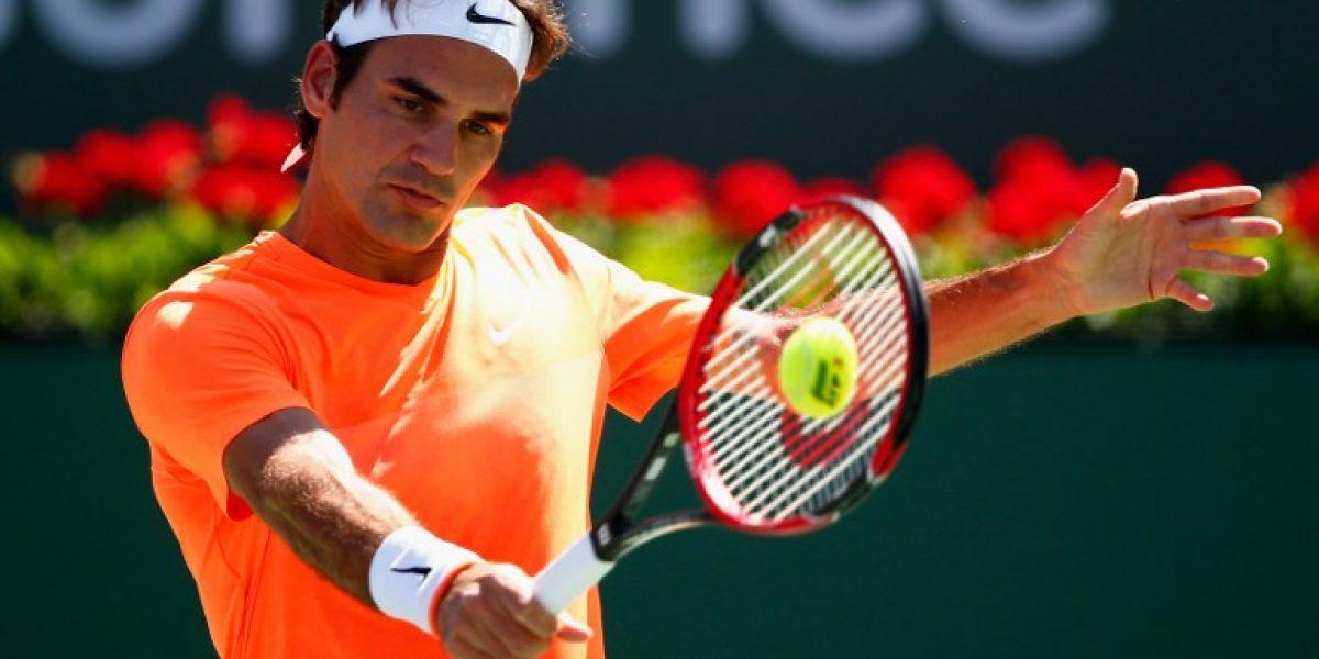 El viejo Federer le dio una clase de tenis a Berdych y ya está en semis de Indian Wells