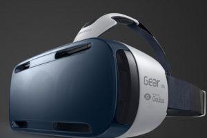 Así lucen los lentes Samsung Gear VR. Foto:Getty. Imagen Por: