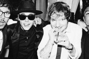 Justin con Ed Sheeran. Se relaciona con más pesos pesados. Foto:Instagram/Justin Bieber. Imagen Por: