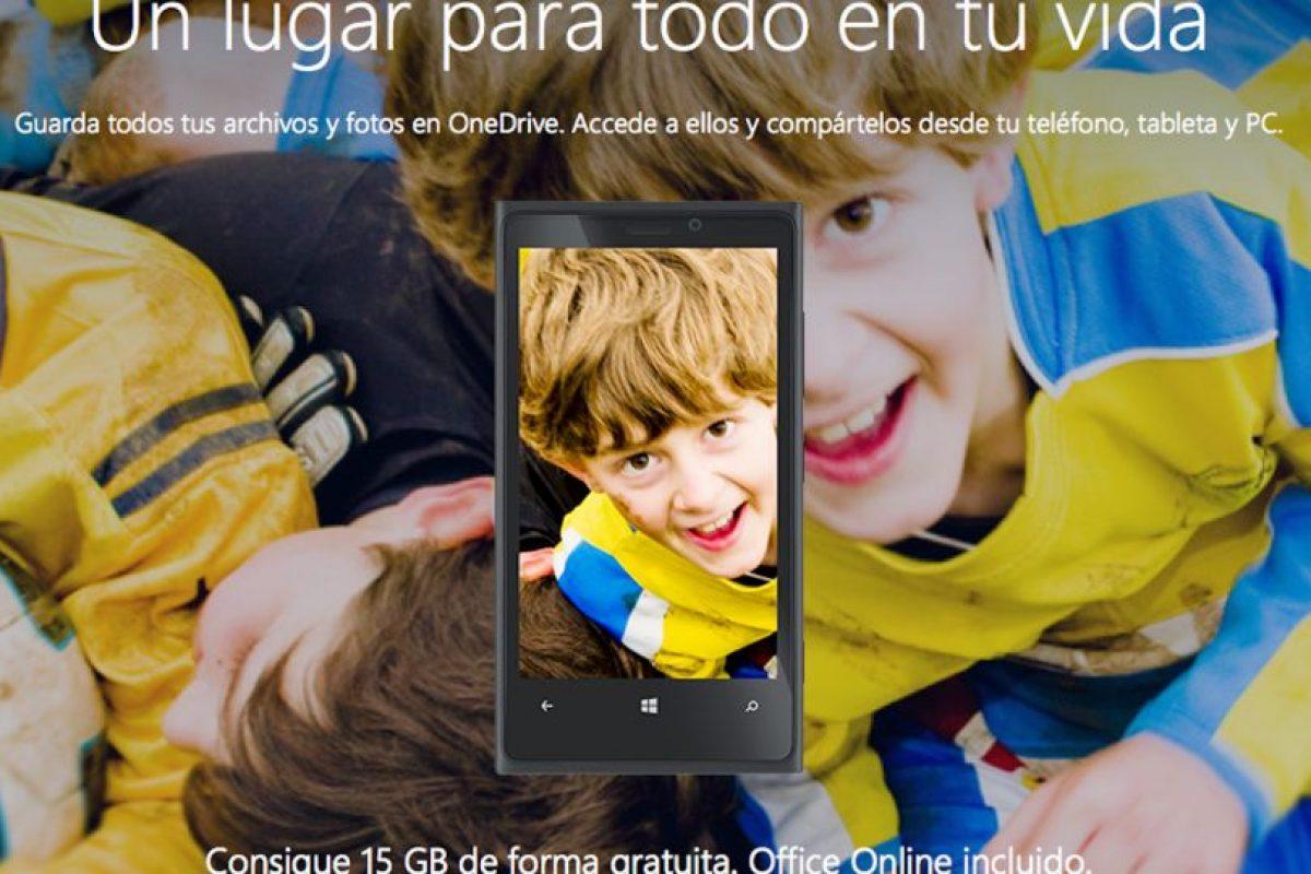 OneDrive de Microsoft está ganando mucho terreno en el tema. Foto:https://onedrive.live.com/. Imagen Por: