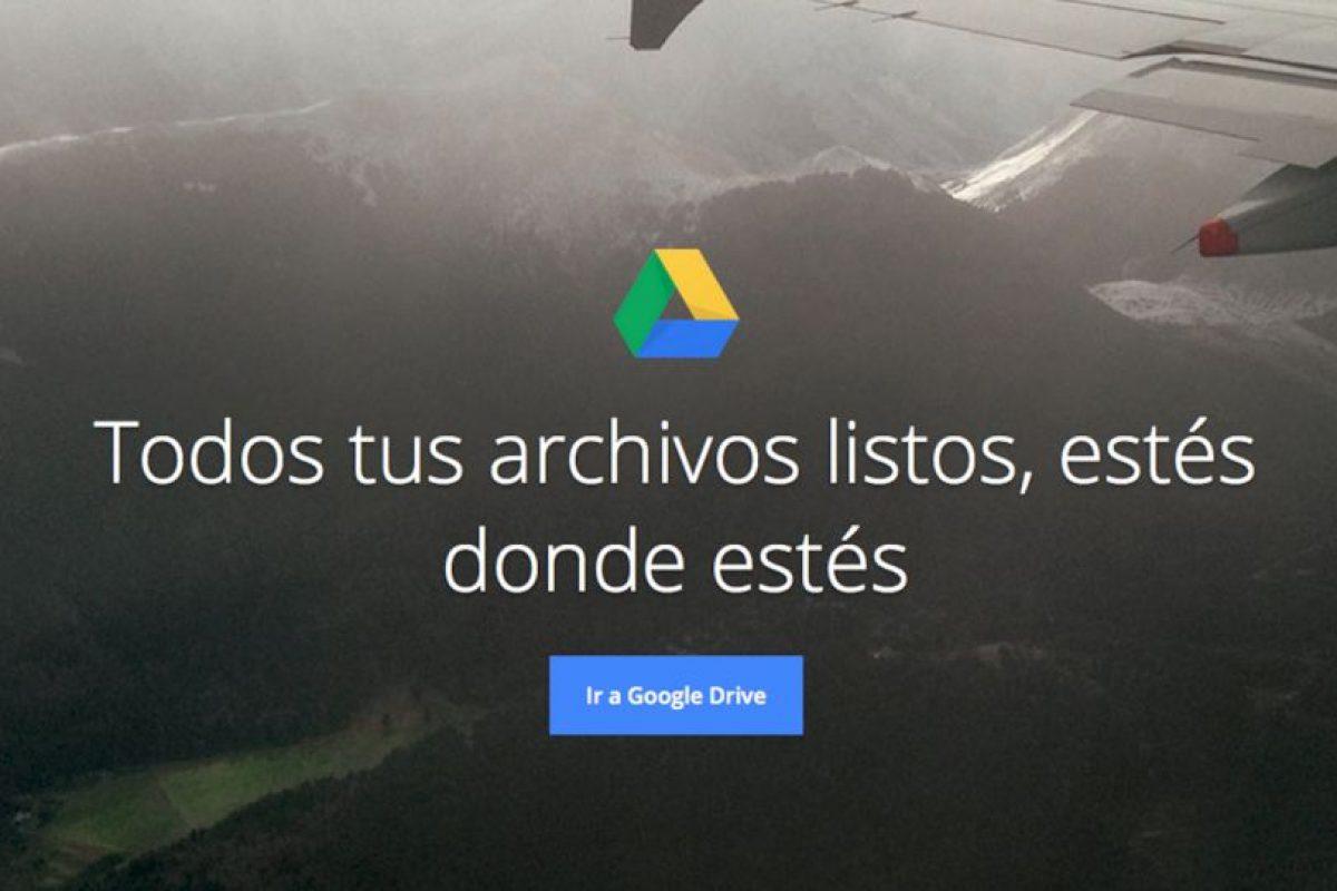 Google Drive funciona de maravilla si les gusta trabajar en equipo o a distancia. Foto:https://www.google.com/intl/es/drive/. Imagen Por: