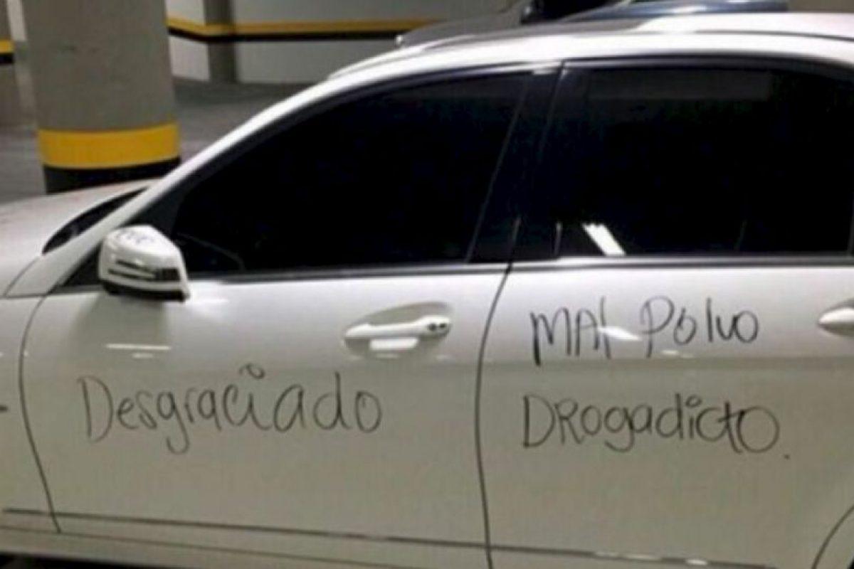 Mejor si tiene auto blanco. Foto:Facebook. Imagen Por: