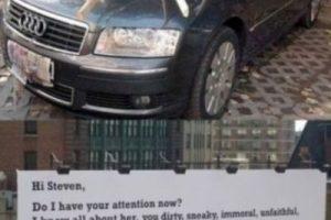 Rayar el auto. Foto:Reddit. Imagen Por:
