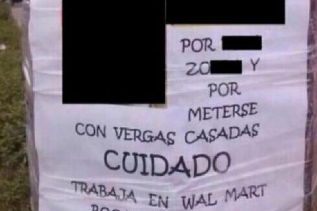 Poner advertencias. Foto:Facebook. Imagen Por: