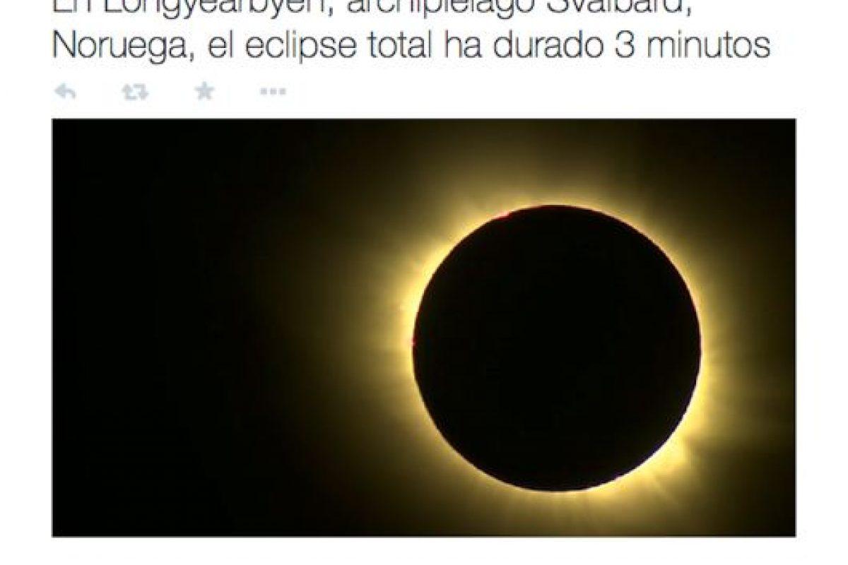 En América, Televisa también dio salida a las notas sobre el fenómeno. Foto:Twitter @NTelevisa_com. Imagen Por: