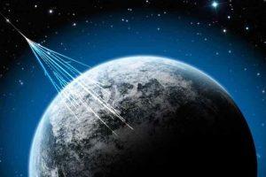 Aunque se pueden detectar en la Tierra, la mayor parte de los rayos cósmicos no nos llegan Foto:Tumblr. Imagen Por: